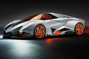 Lamborghini Egoista, 600 CV slo para ti
