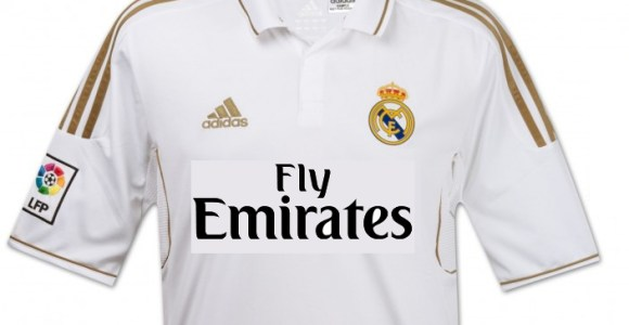 El Real Madrid lucirá 'Fly Emirates'