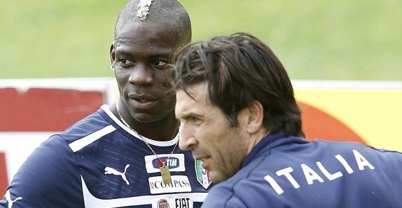 balotelli buffon