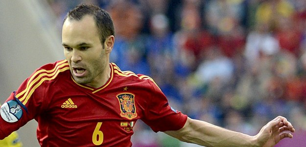 Iniesta nombrado mejor jugador