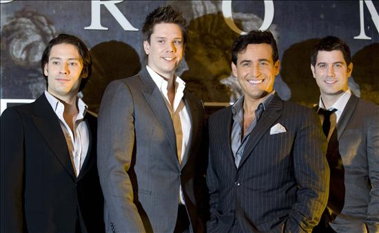 Il divo llega a madrid con an evening with il divo - An evening with il divo ...