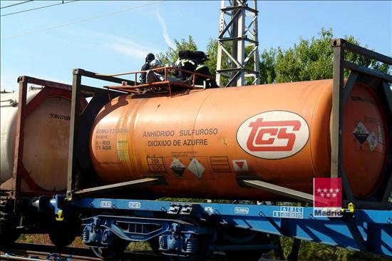 Examen consejero de seguridad,Ferrocarril (RID): España 2012
